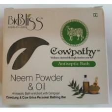Cowpathy  Soap Antiseptic Bath (Neem Poweder & Oil)